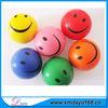 Color full PU similey face Stress Ball,Smile face anti stress ball
