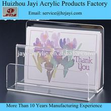 Alibaba china acrylic postcard display greeting card table display stand