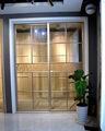 gabinete de alumínio da porta deslizante