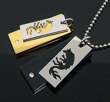 new hot products in america pair double wolf pendant best friend CMP-982