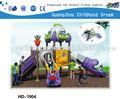 ( hd- 1904) plástico slide, parque de diversões equipamentos para adultos, parque de diversões slide equipamentos