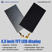 new development 5.98inch hd touch screen lcd glue for game machine