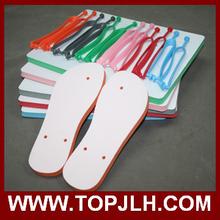 Matéria prima para a fabricação de chinelos