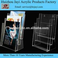 Alibaba china wall mounted acrylic book display wall mounted advertising display