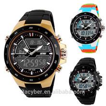 Military Digital Quartz Sports Man Watch Casual Silicone LED Watch