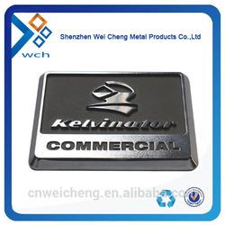 metal badge with 3m adhesive