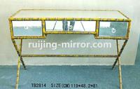 bone inlay coffee table mirror furniture