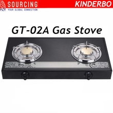 Double Burner Biogas Stove