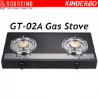 europe glass top gas stove