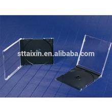 10.4mm single/double black cd jewel cases wholesale