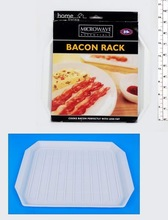2014 HOT selling new convenient microwave bacon rack