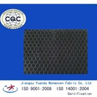 embossed needle punched polyester nonwoven carpet backing fabric