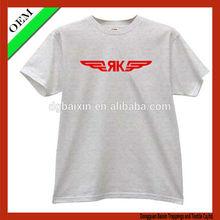 new design organic tshirt manufacturer men t-shirt men short t-shirt with printing