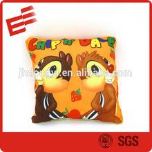 animal skin cushion