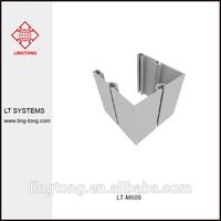 100mm Aluminium Open Square Profile for Trade Show Stall LT-M608