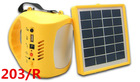 new design ODA203/R mini solar camping with radio outdoor emergency hand lantern