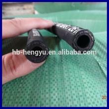 Fuel hose of one layer braid hydraulic hose EN 853 1SN