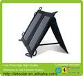 2014 nueva mochila 120w mono panel solar para el iphone y el ipad directamente bajo la luz del sol