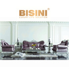 European Neoclassic style Victoria living room furniture luxury sofa set