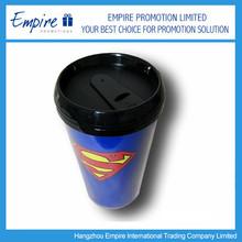 Newly Design Super Man Promotional Stainless Steel Travel Mug