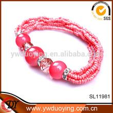 Fashion gift item 2014 initial jewelry fashion beaded bracelets