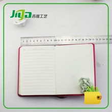 OEM pu leather diary cover FOR GIFTS in China (new smile design)