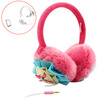 Hot selling colorful earmuff headphone with mic for children made in China
