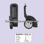 2014 new fashion jingxiang luggage trolley wheel travel luggage big wheels made in china