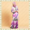 14955 Latest 2014 Contemporary Design Printed Baju Kurung