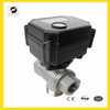 3 way electric valve 8mm 15mm 20mm 25mm solenoid water shut-off valve for solar water system