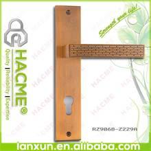 Affordableluxury zinc plate sectional door handle