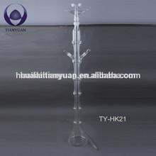 Lead free handblown pyrex borosilicate art hookah glass