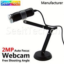 Promotional autofocus lens usb easy use cable clip webcam cover