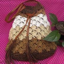 BV5011 New handmade crochet handbag straw bag fashion beach bags factory price wholesale