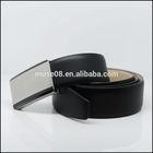M132 Black fashion high quality wholesale leather belt blanks