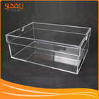 China Professional Export Clear Acrylic Shoe Display Boxes