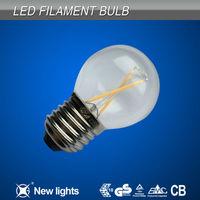 hot style products 2014 antique glass LED edison g45 decoration bulb