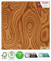 Fancy Engineered wood veneer Cherry burl 061N for doors or for the furniture