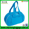2014 trendy fashion blue sport gym bags/sport bags for gym