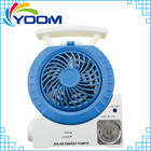 YMC-A01 2014 TF card slot FM radio MP3 phone connect speaker table lamp spotlight 7 function solar powered outdoor fans