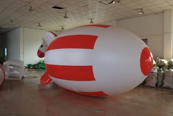 inflatable outdoor remote control blimp/custom giant advertising/radio control airship, zeppelin blimp