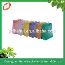 Handle Biodegradable Plastic Gift bag/Shopping bag for Promotion