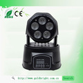 5x12w multi colore mini testa mobile discoteca luci led illuminazione per homeparty