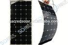 100w mono semi-flexible Solar Panel Flexible, 100watt flexible Solar Panel Flexible for boat RV