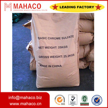 Industrail grade tanning grade high purity basic chrome sulphate(BCS) 24%-26%