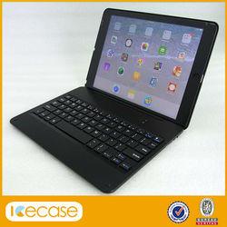 For ipad air Bluetooth keyboard universal with good quality,ultra slim wireless keyboard for ipad air