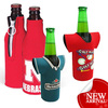 customized insulated neoprene beer bottle cooler sleeve