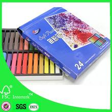 24 de color en colores pastel de la tiza / suave en colores pastel de la tiza / artista en colores pastel de la tiza