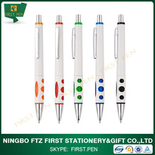fancy cheap plastic pen with custom logo