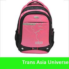Hot Sale custom logo college 2014 fashion school bag for high school girls